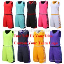 kit de jersey de baloncesto de alta calidad nuevo uniforme en blanco modelo conjunto de fútbol al por mayor
