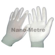 NMSAFETY PU beschichtete ESD Handflächenhandschuhe