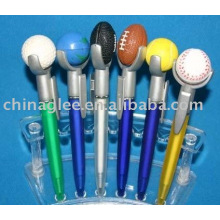 bolígrafo de plástico