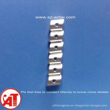 Dia.10X2mm disco de neodimio imanes / altavoz de D10X2mm disco imanes / imanes del cilindro con orificio