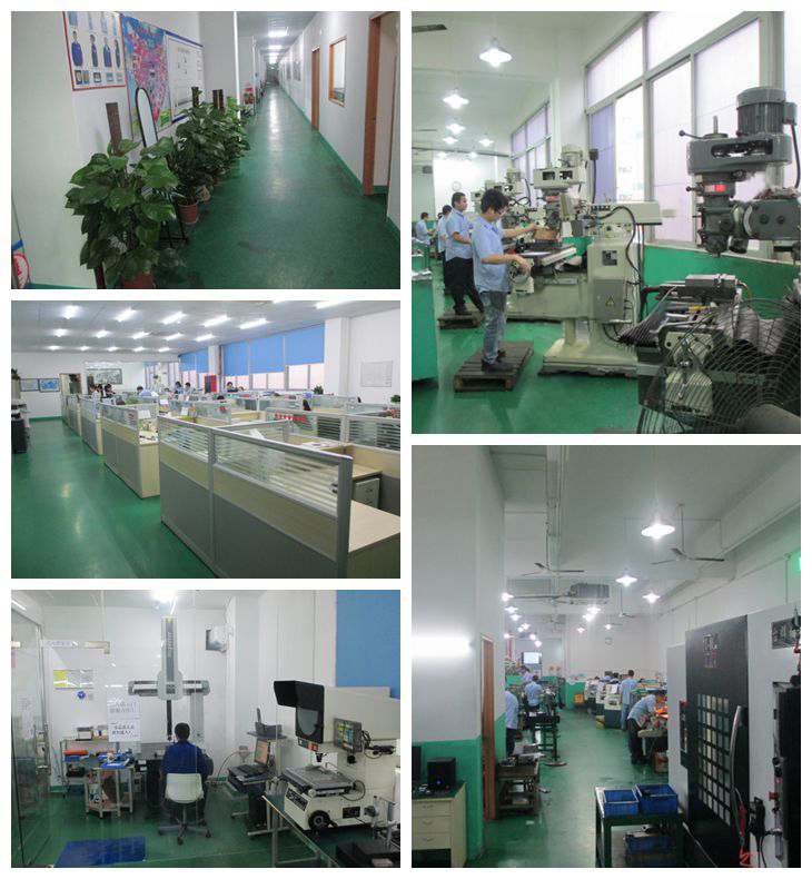 Precision Machined Components SGI Factory