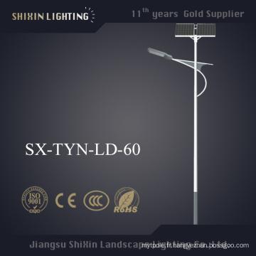 10m 80W 90W 100W LED réverbère solaire