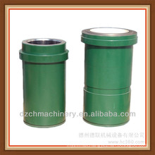 double metal liner for mud pump