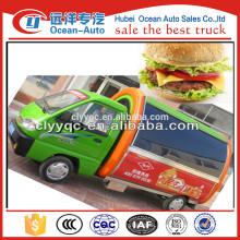 high quality mini burger bun food truck usati vendita