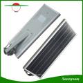 Solar Licht 5 Jahre Garantie Energiesparende Outdoor 60W LED Integrierte Solar Straßenlaterne mit Bluetooth APP Control