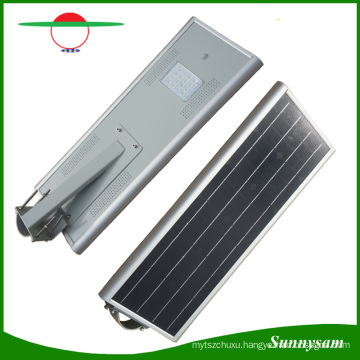 Solar Light 5 Years Warranty Energy Saving Outdoor 60W LED Integrated Solar Street Light with Bluetooth APP Control