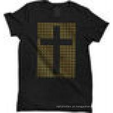 T-shirt 100% algodão,