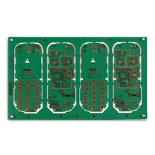 8-layered Main Board for Mobile Phones, with OSP BGA Surface Finish