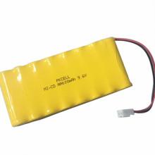 Batterie rechargeable de batterie de PKCELL 4.8V 9.6V 12v nicd