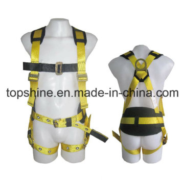 Adjustable Professional Factory Polyester Working Full-Body Safety Harness Belt