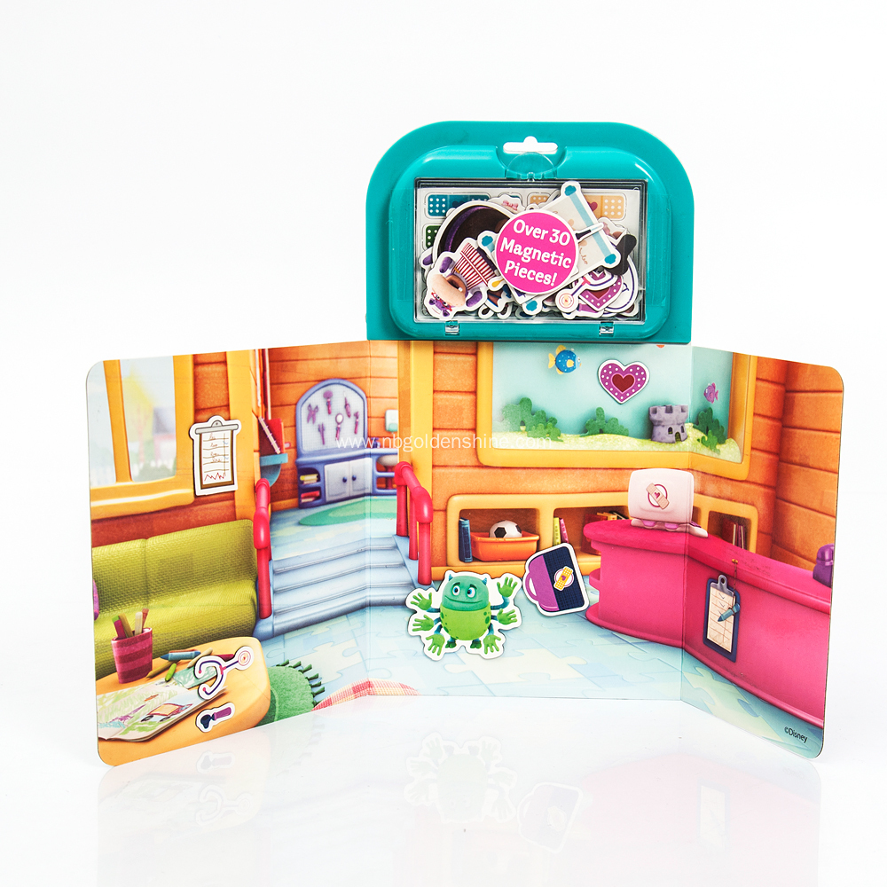 Disney Doc Magnetic Activity Fun