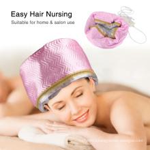 Women Hair Steamer Cap Dryers Thermal Treatment Hat Beauty SPA Nourishing Hair Styling Electric Hair Care Heating Cap Us/EU Plug