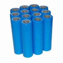 3.2V 1600mAh IFR 18650 LiFePO4 Rechargeable Battery, Cylindrical Cell, UL, CE, RoHS Approved