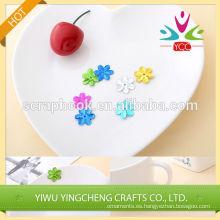 Flor colorida personalizar lentejuelas decorativas alta calidad