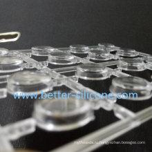 Силиконовая резиновая клавиатура с пластиковой крышкой клавиатуры