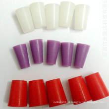 Plugue de borracha de silicone com cone resistente a calor personalizado