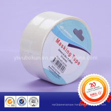 Individual Packed White Masking Paper Tape