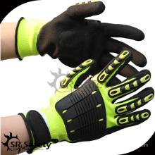 SRSAFETY сверхпрочные противоударные масляные рабочие перчатки
