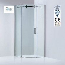 8mm/10mm Glass Thickness Round Shower Room/Sliding Shower Enclosure (Kw05k-C)