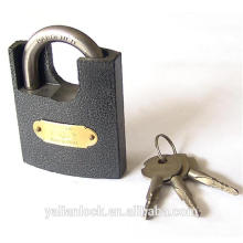 Europe Market Good Quality Plastic Painted Shackle Half Protected Padlock