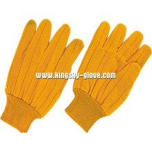 Hitzebeständige stricken Handgelenk Baumwolle Arbeitshandschuh -2108