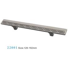 Liga de zinco móveis ferragem puxar alça de gabinete (22001)