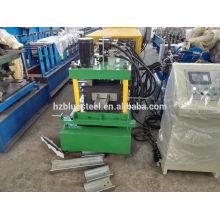 Automático C Channel Steel 80 ~ 300mm C Purlin Roll formando máquina em Hangzhou Zhengjiang