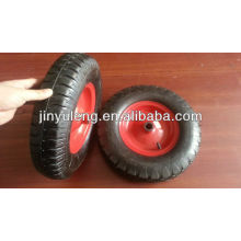 4.80-/4.00-8 rubber wheel /pneumatic wheel ,for wheel barrow ,handcart,trolley ,lug pattern