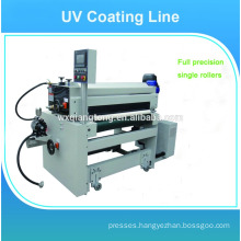 UV coating spray machine / Flooring panels uv coating line / High gloss uv coating machine