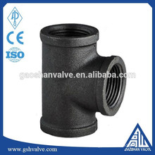 malleable iron pipe tee