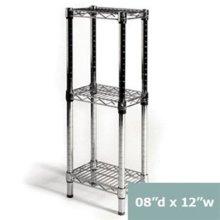 Rincón de baño de acero inoxidable de almacenamiento de rack (CJ303060B3C)