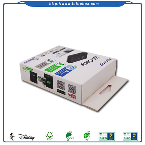 Power Bank White Paper Box Packaging