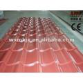 Telha de telhado de aço colorida do esmalte que forma a máquina / telha de telhado de aço que faz a maquinaria