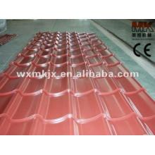 Metalldachziegel / Dach glasierte Fliesen / Stahldachplatte, die Maschine bildet
