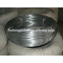 alambre de hierro recubierto de zinc