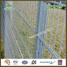 Vista clara y panel de cerca de alambre doble de alta fortaleza 2D