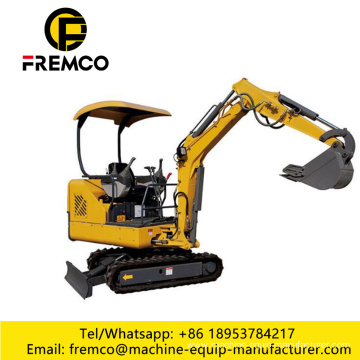 Wheel Excavator with Grab Shovel for Sale
