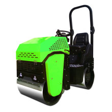 Hydrostatic travel and vibration drive road roller