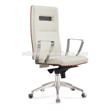 2017 best sell ergonomic office chair white PU manager chair
