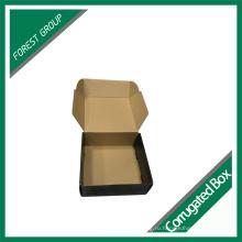 Креативный дизайн Черная цветная печать Гофрированный почтовый ящик