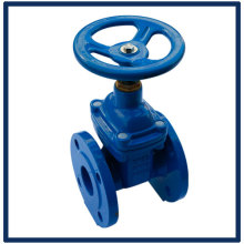 DIN3202 F4/F5 non-rising stem resilient seated gate valve