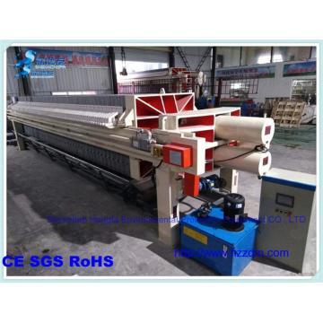 automatic filter press sewage sludge treatment equipment