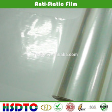 PET ANTI-STATIC FILM/TRANSPARENT ANTI-STATIC PET FILM