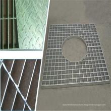 Rejilla de barra de acero galvanizado en caliente