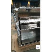 Boîtes à outils vides en aluminium imperméable d'OEM pour les camions de ramassage Boîtes à outils vides en aluminium imperméable d'OEM pour les camions de ramassage