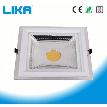 5W Square COB Glass Led Panel Light