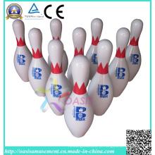 Pinos de bowling duráveis (pinos brancos)