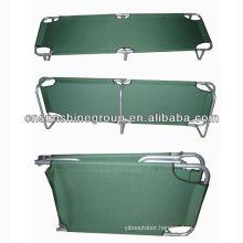 Single folding steel bed