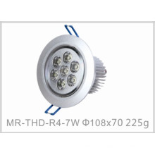 Plafonnier de l'intense luminosité LED de 7W avec du CE et RoHS