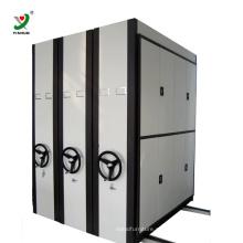 Prateleiras móveis do arquivo do compressor das prateleiras profissionais arquivando do arquivamento